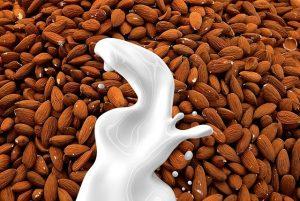 חלב אורז שקדים